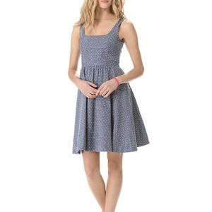 Marc by Marc Jacobs Dotty fit and flare dress